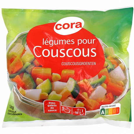 Cora légumes pour couscous 1kg
