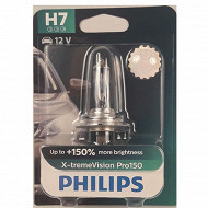 Philips lampe x-treme vision pro 150% h7 12v 55w