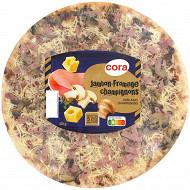 Cora Pizza jambon fromage champignons 450g