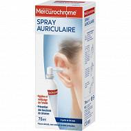 Mercurochrome spray auriculaire 75ml