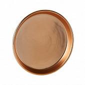 Coupelle céramique ronde couleur cuivre