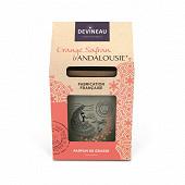 Devineau contenat ovale 2 mèches en coffret cadeau parfum orange safran