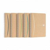 Oxford cahier touareg intégral lm7 recyclé a5 180 pages 90g