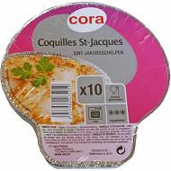 Cora coquille saint jacques x10 aluminium