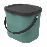 Poubelle 6 litres vert Albula