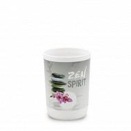 Gobelet plastique imprimé zen spirit