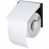 Derouloeur papier wc blanc