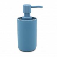 Distributeur savon plastique bleu de provence