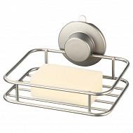Porte savon et éponge metal