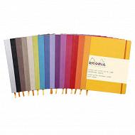 Rhodia carnet soft cover ligne 19x25cm 160 pages