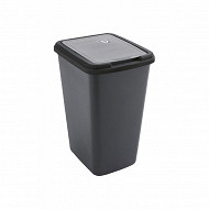 Poubelle green bin noir 50l
