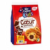 Ker cadelac sachet madeleines coeurs + pepites de chocolat 360g 12+2