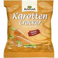 Alnatura crackers carottes 75g