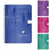 Clairefontaine carnet reliure intégrale 90X140 mm  100 pages petits carreaux