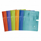Clairefontaine cahier piqûre 17x22 cm 48 pages seyes 90 grammes