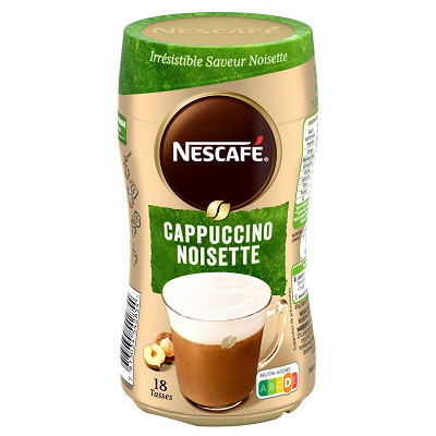 Nescafé Nescafé Cappuccino noisette - café soluble - 270g