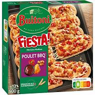 BUITONI FIESTA pizza surgelée Poulet Barbecue 500g