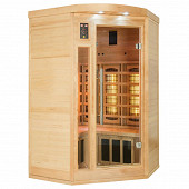 Sauna infrarouge Apollon Quartz 2/3 places angulaire