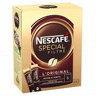Nescafé Spécial Filtre - Café soluble riche et subtil - 25 sticks - 50g