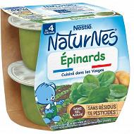 Nestlé Naturnes épinards dès 4/6 mois 2x130g
