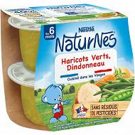 Nestlé Naturnes Haricots verts Dindonneau dès 6 mois 2x200g
