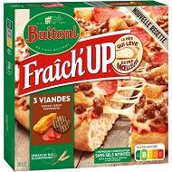 BUITONI FRAICH'UP pizza surgelée 3 Viandes 590g