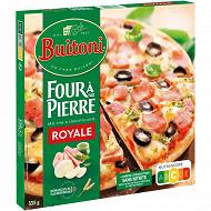 BUITONI FOUR A PIERRE pizza surgelée Royale 335g