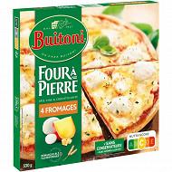 BUITONI FOUR A PIERRE pizza surgelée 4 Fromages 330g