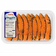 Cora émincés de saumon aneth 120g