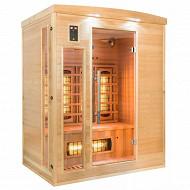 Sauna infrarouge Apollon Quartz 3 places