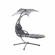 Chaise suspendue grise