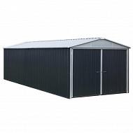 Yard master garage métal 19.07 m surface hors tout