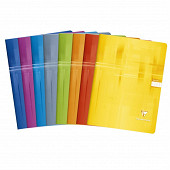 Clairefontaine cahier piqûre 24x32 cm 96 pages seyes 90 grammes
