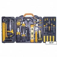 Rondy ensemble 68 outils coffret plastique