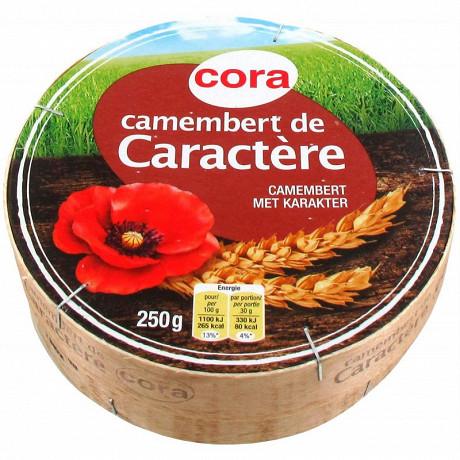 Cora camembert de caractère 250g