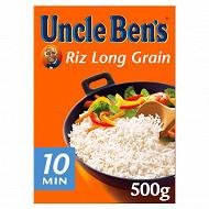 Uncle Ben's riz long grain vrac 10mn 500g