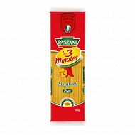 Panzani pates cuisson rapide spaghetti plat 500g