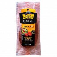 César Moroni chorizo doux avec piment rouge de Murcie 200g