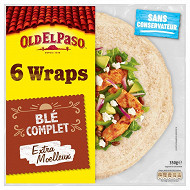 Old el paso wraps blé complet 350g
