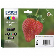 Epson Cartouche d'encre T2986 Pack Fraise BK/C/M/Y