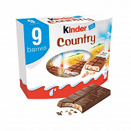 Kinder country x 9 211g
