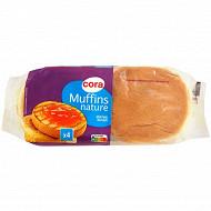 Cora muffins nature x4 245g