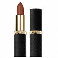 L'oréal rouge a levres color riche palette mat obsession 634 greige hype nu+sl