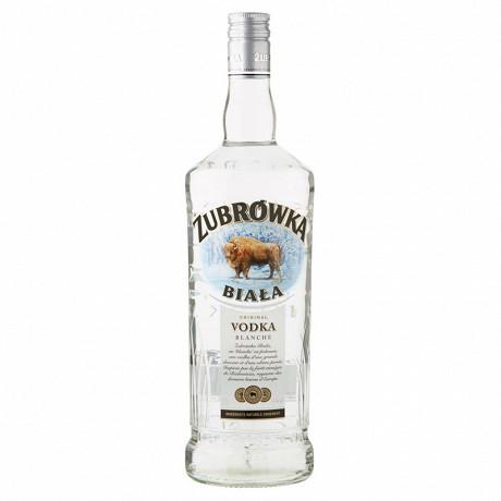 Zubrowka biala vodka 1L 37.5%vol