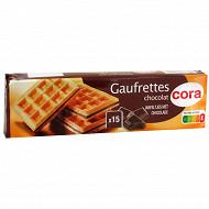 Cora gaufrettes chocolat 110g