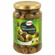 Cora olives vertes dénoyautées 160G