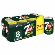 7 up saveur mojito can 7x330ml +1