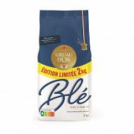 Gruau d'or farine de blé  t45 2kg