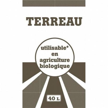 Terreau 40 litres utilisable en agriculture biologique