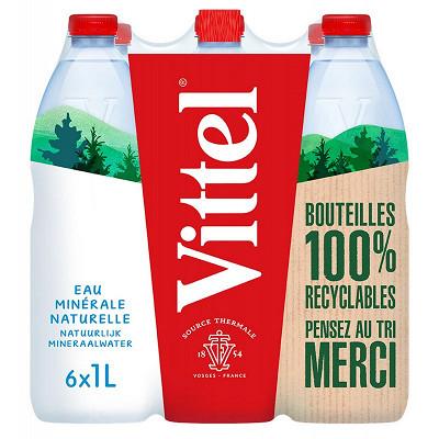 Vittel Vittel eau minérale naturelle 6x1L